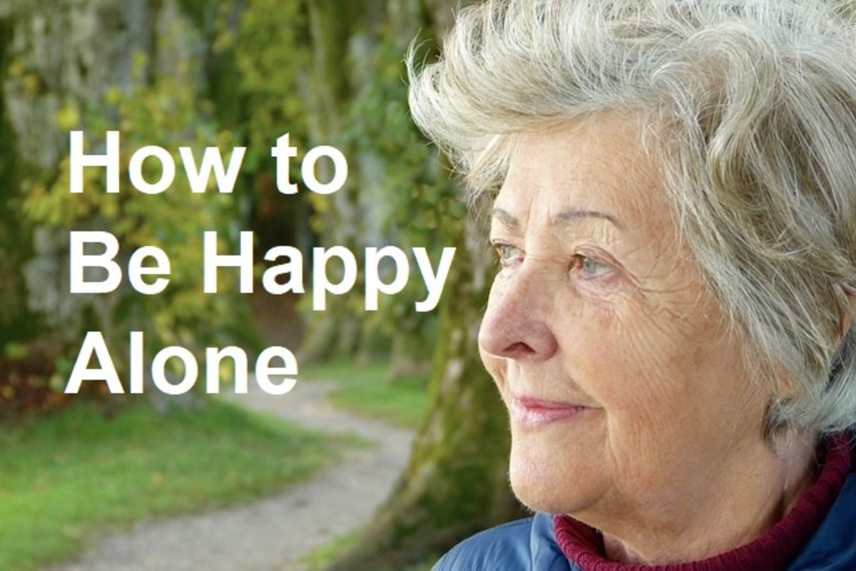 How to Live a Happy Life Alone Without Feeling Lonely and Depressed