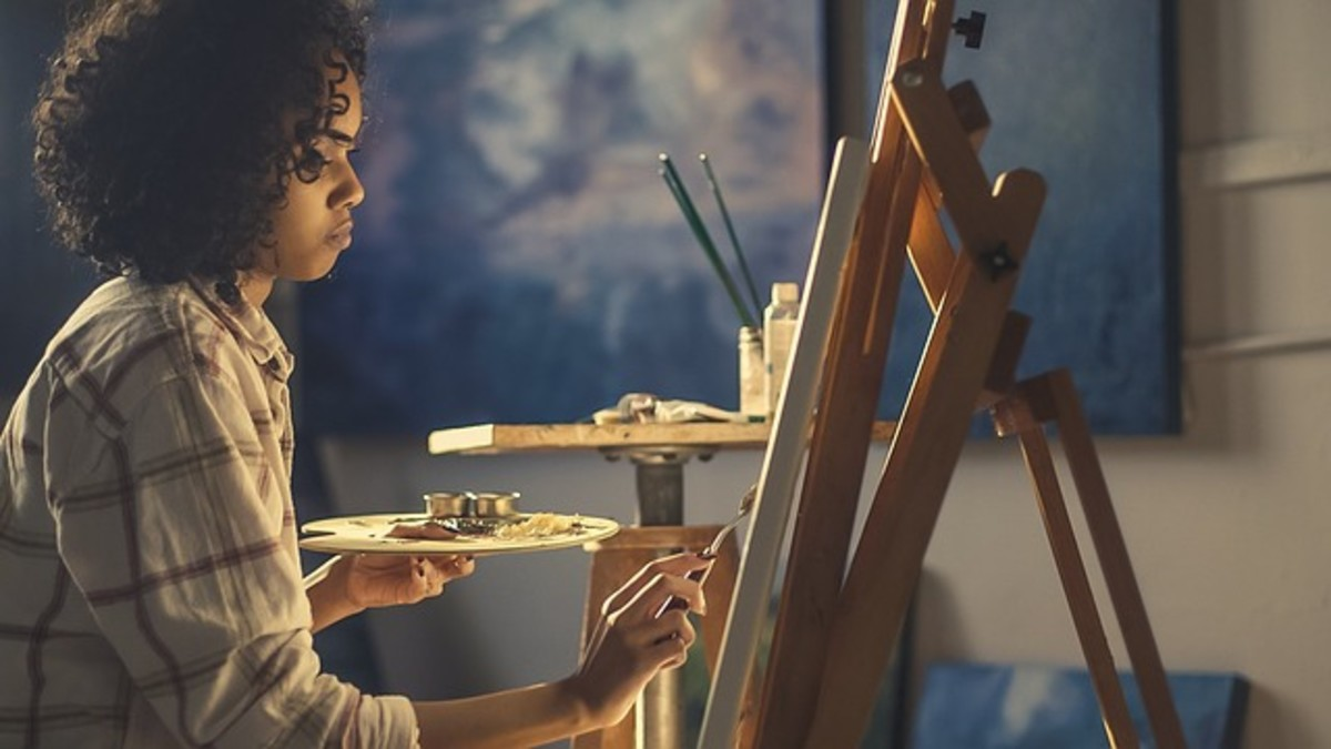 There's a strong association between solitude and creativity. If you're alone, you probably have more time than other people to exercise your imagination and develop new skills. Writers, artists, and other creatives have always valued solitude