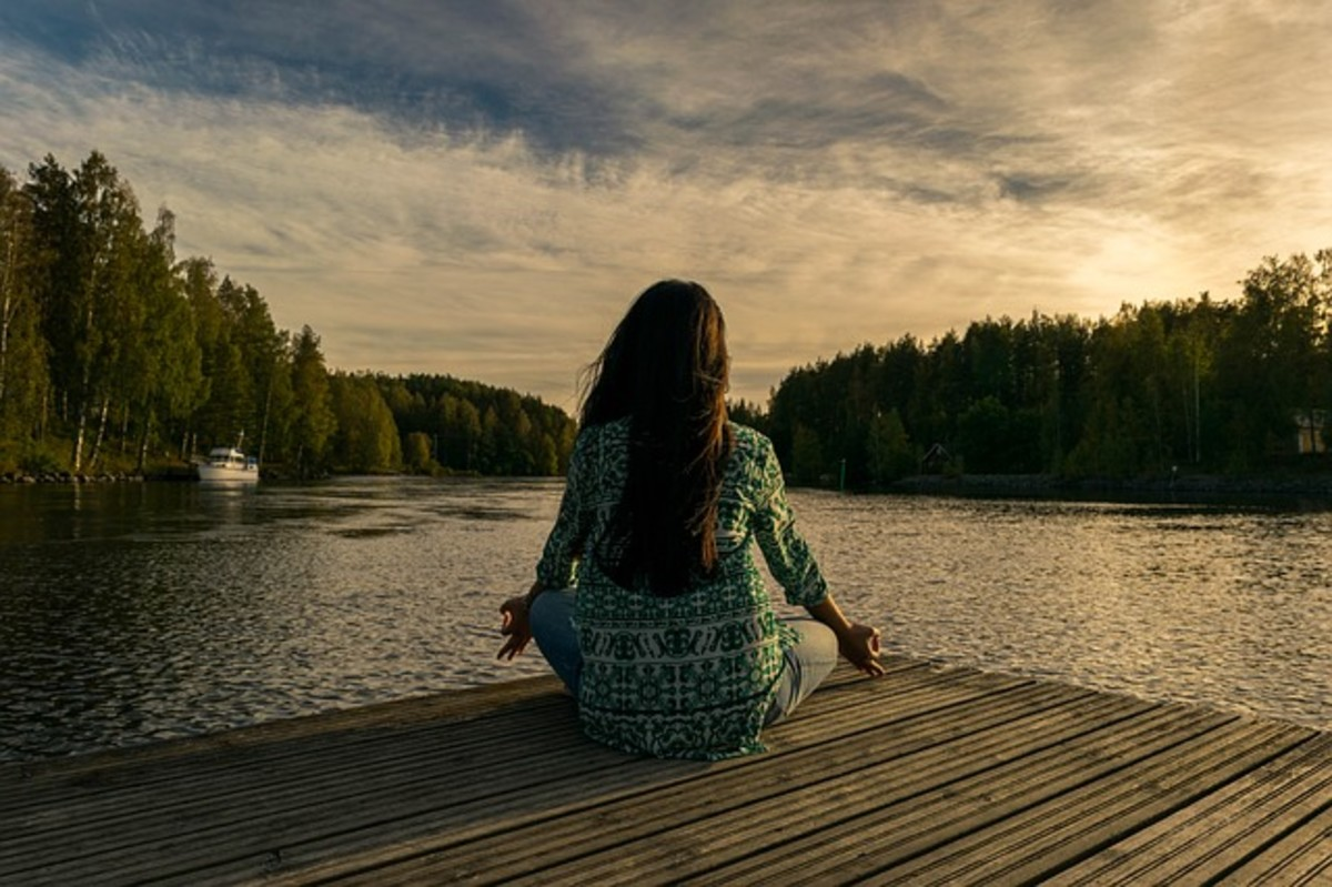 While many people get great benefit from them, you don't have to practice yoga or meditation to appreciate the peace and silence which can come from solitude. Spending time alone to contemplate and relax is enough