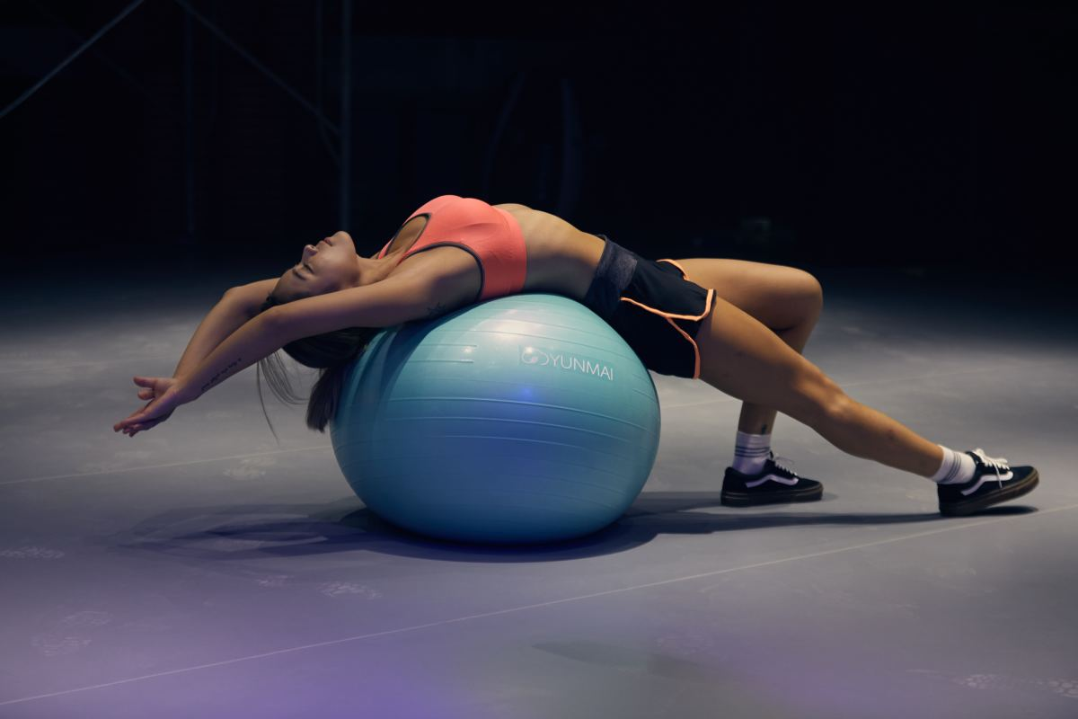 """Extension of the spine can add up to a perceived inch depending on how long you've been """"compressing."""""""