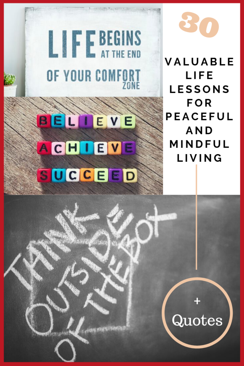 30 Valuable Life Lessons for Peaceful and Mindful Living