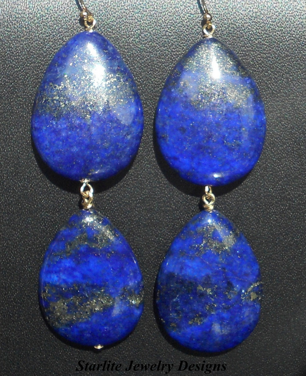 Lapis lazuli brings a sense of serenity to all around.