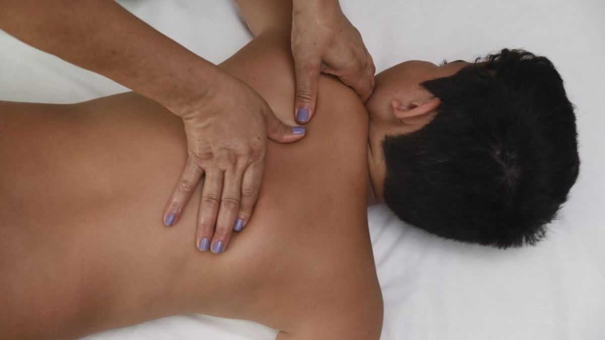 Shiatsu is a healing form of massage.