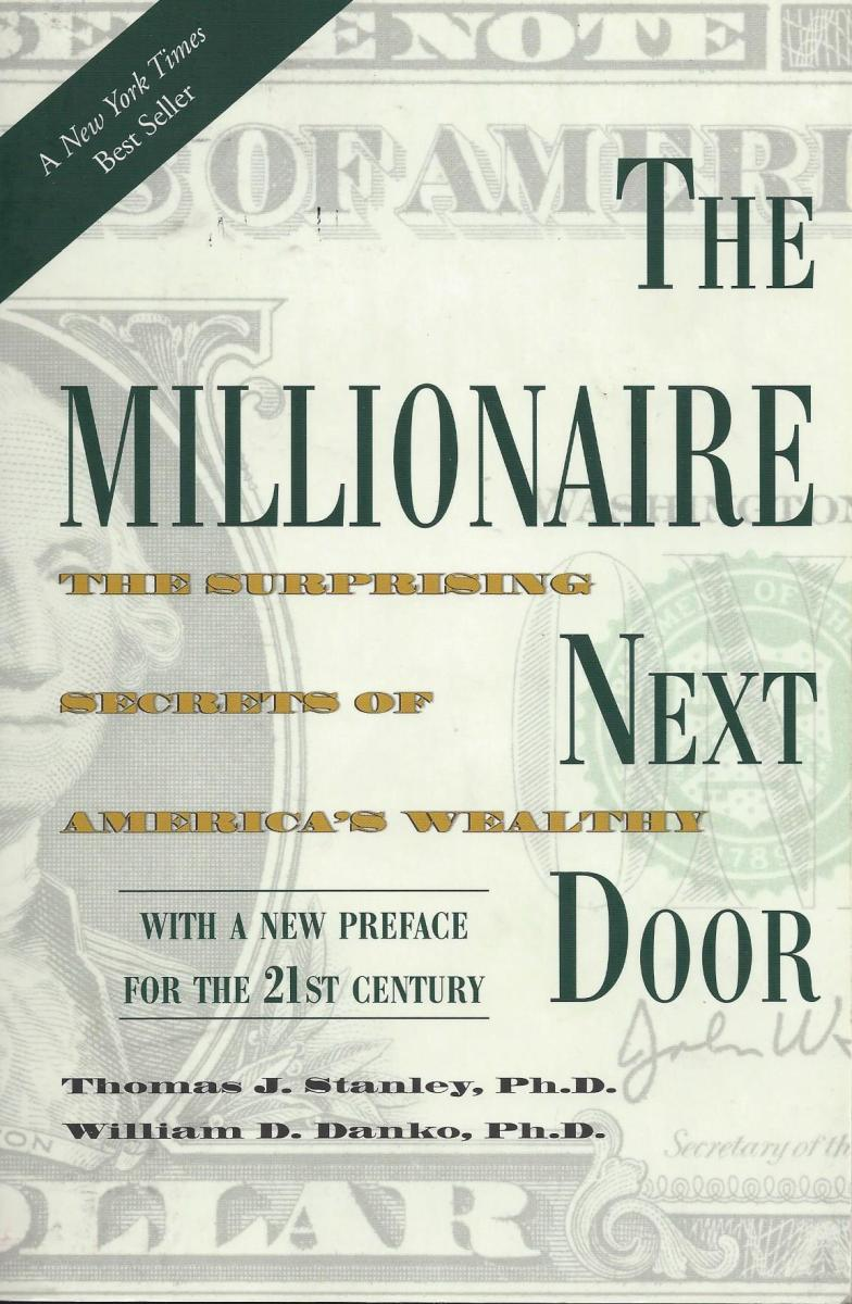 "Cover of the Book ""The Millionaire Next Door"""