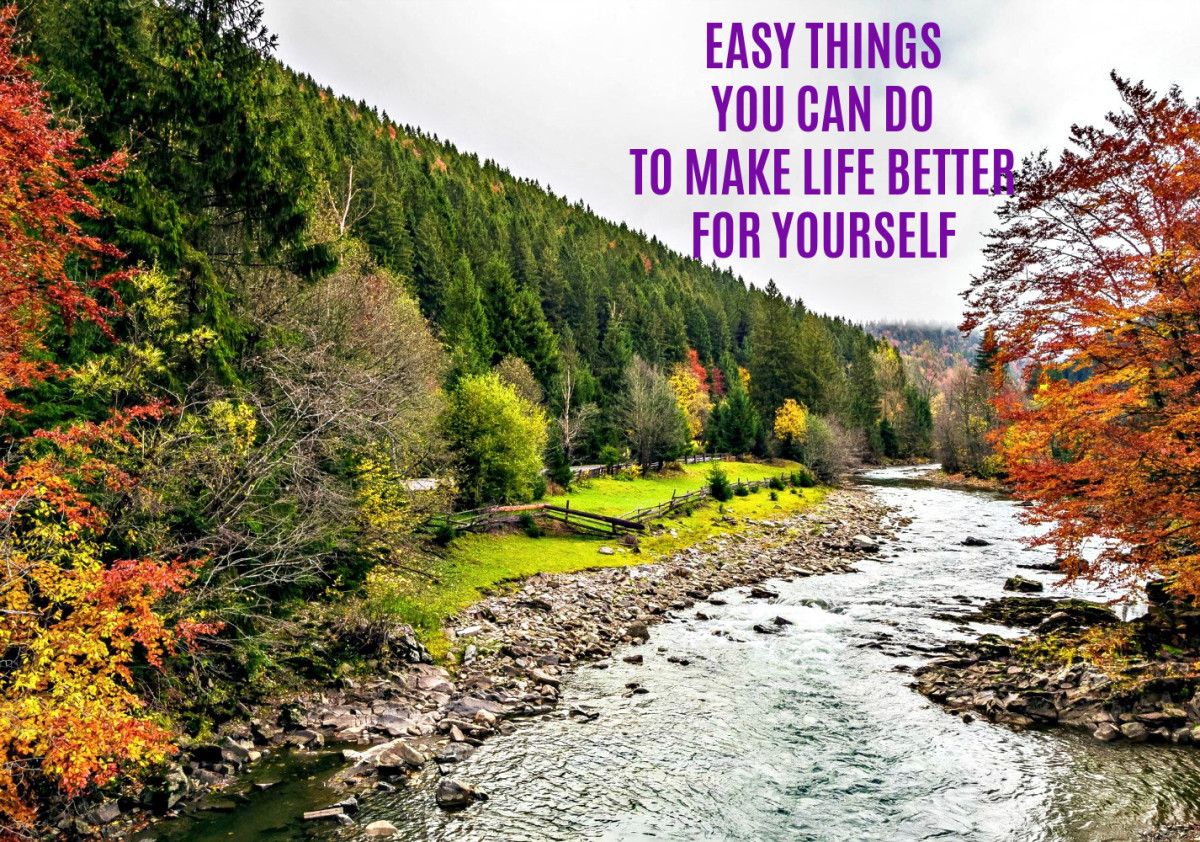 Things you can do to make your life happier and more successful.