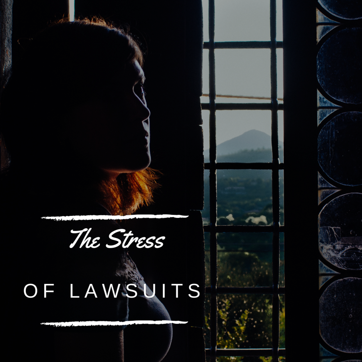 Tips for Coping With the Stress of Being Sued