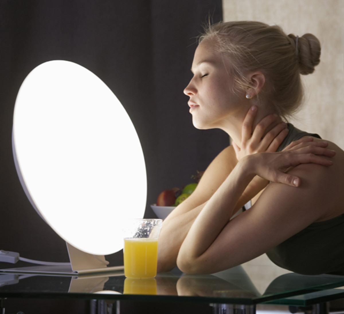 The benefits of light therapy.
