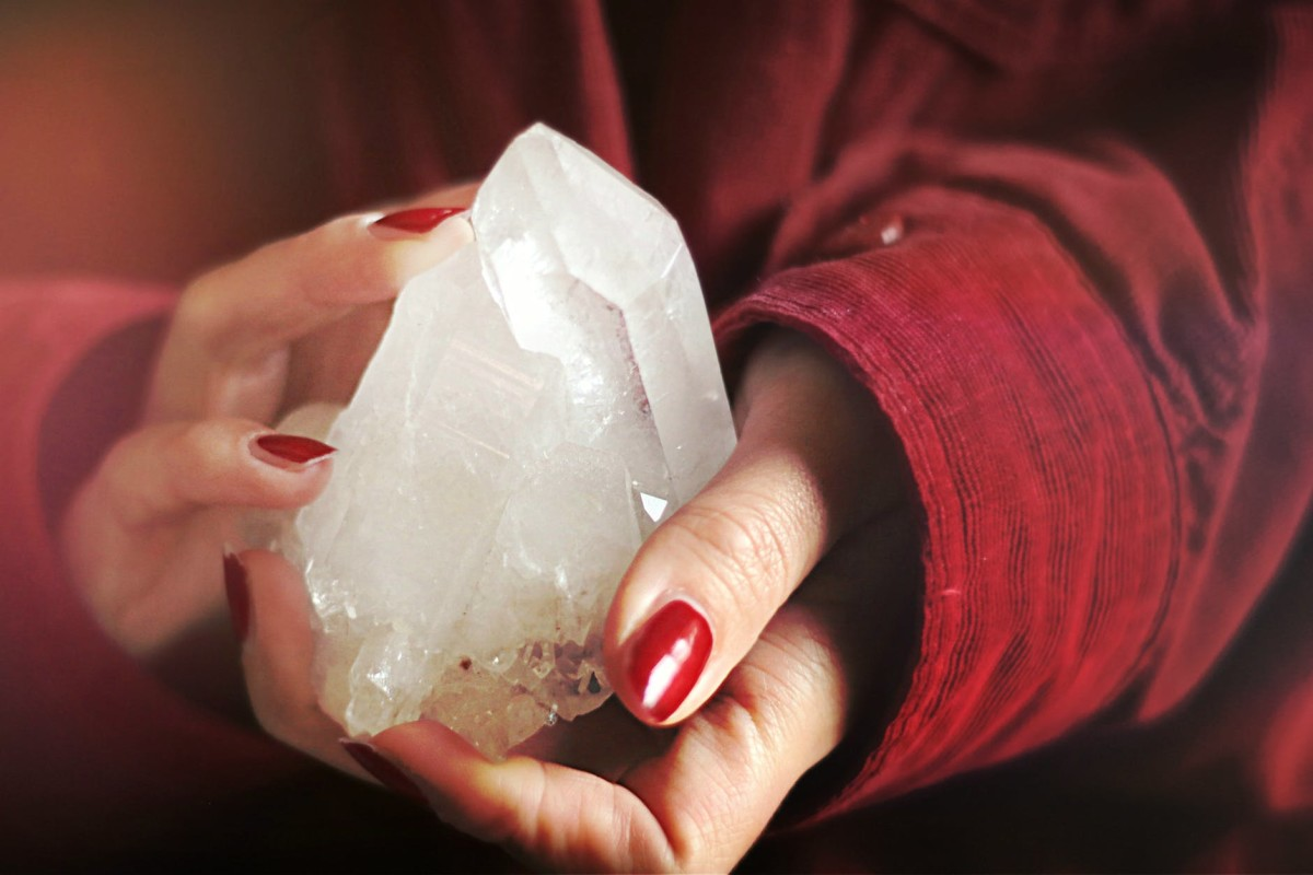 Clear quartz is one of the most essential and common healing crystals.