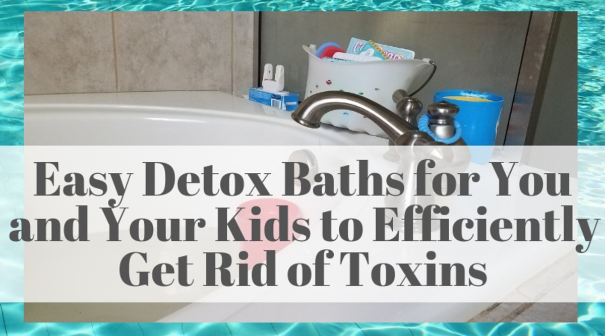 Easy Detox Baths for You and Your Kids to Efficiently Get Rid of Toxins