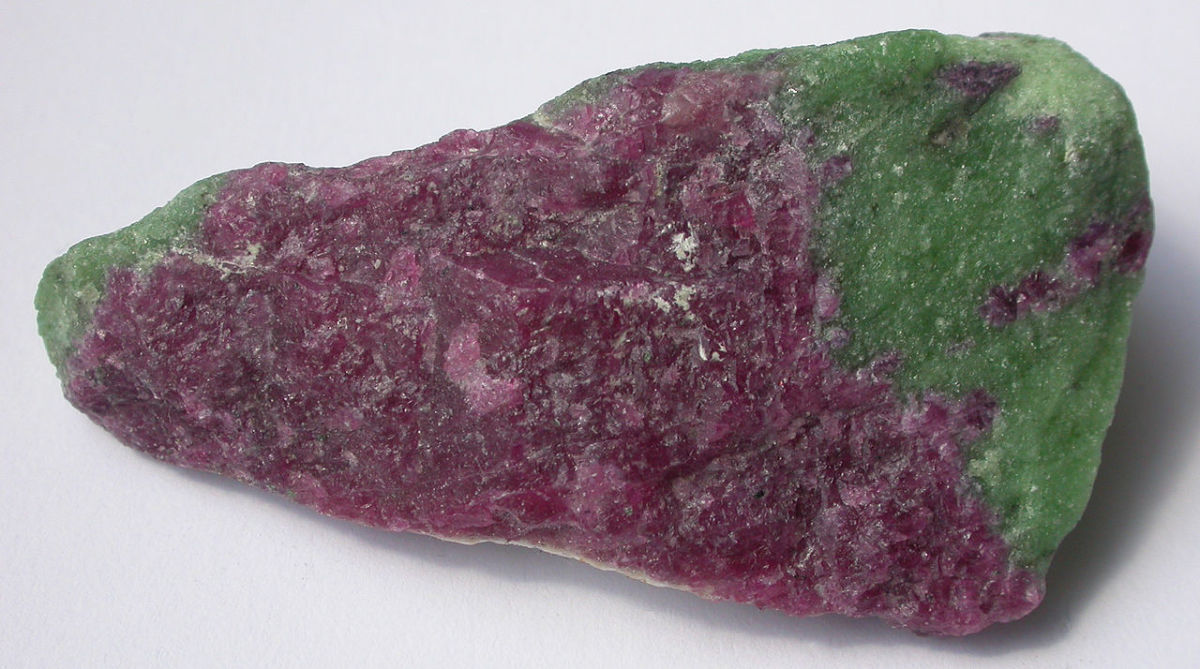 Ruby in zoisite helps the heart and mind to work together.
