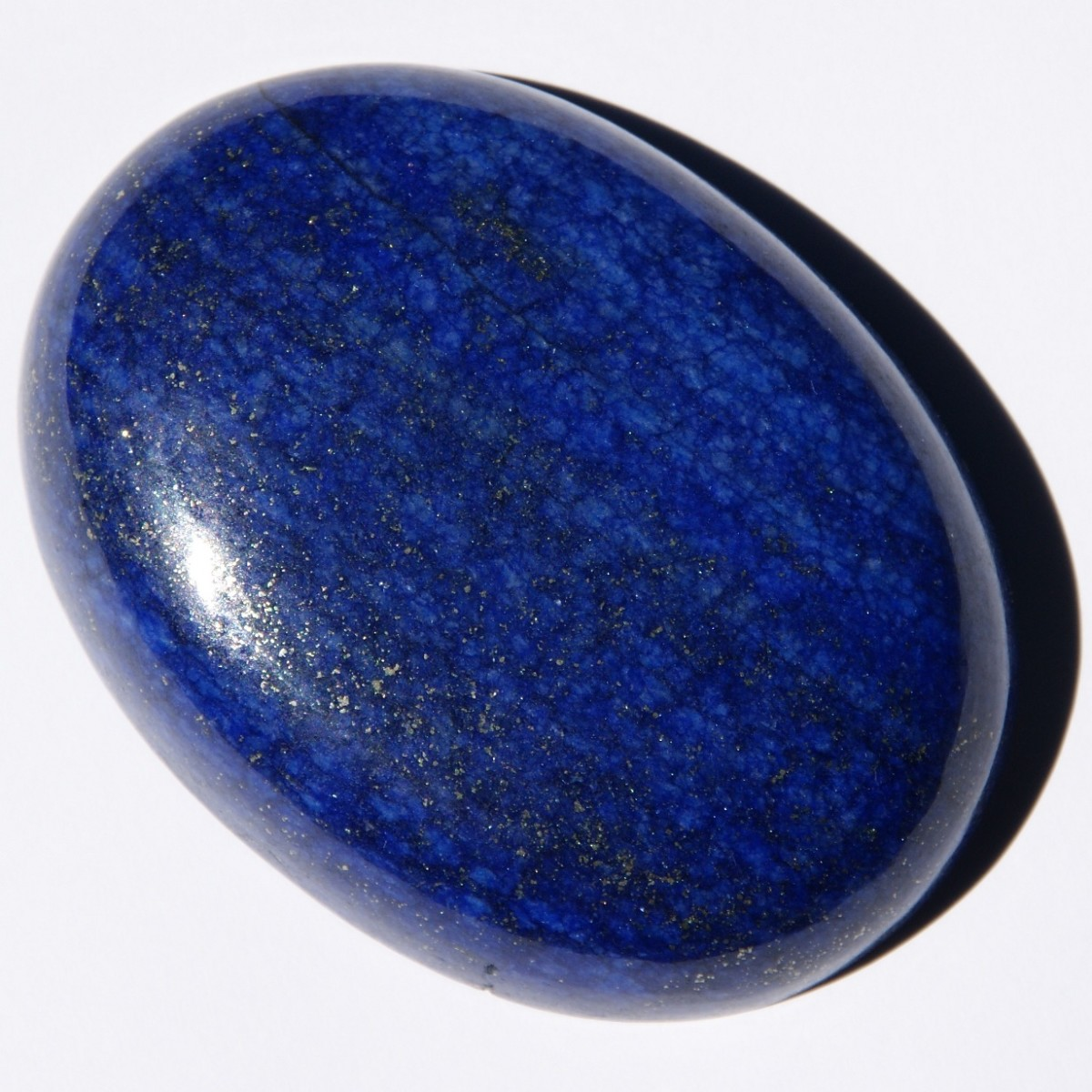 Lapis lazuli is a good crystal for communication and emotional healing.