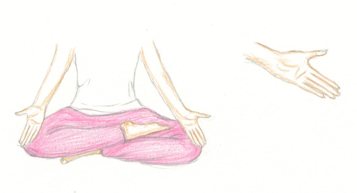 Artwork: Gesture of Acceptance by S.P. Austen