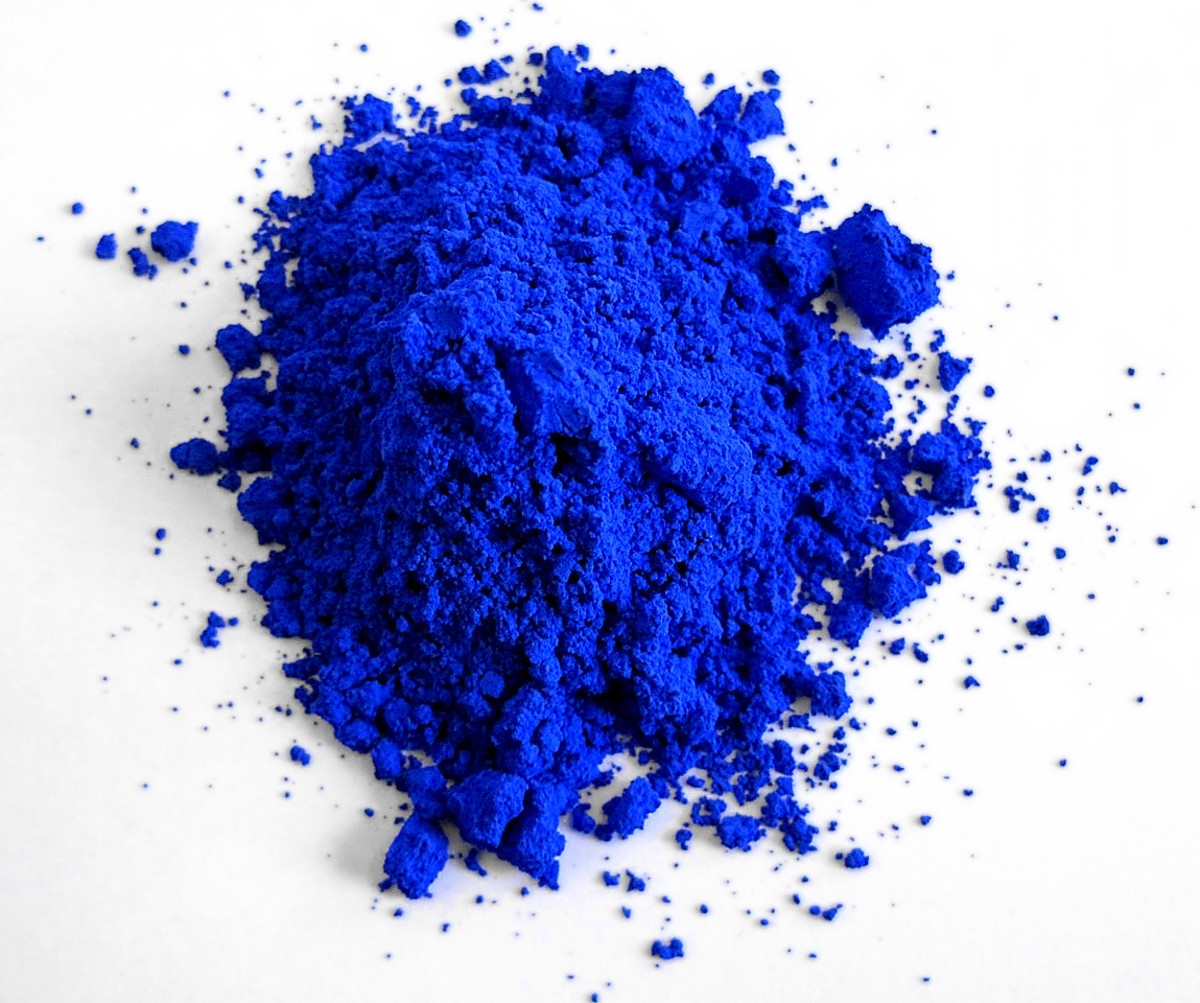 Aquamarine paint is made when you ground lapis lazuli. Many ancient civilizations used this pigment and it is still used today in some places.