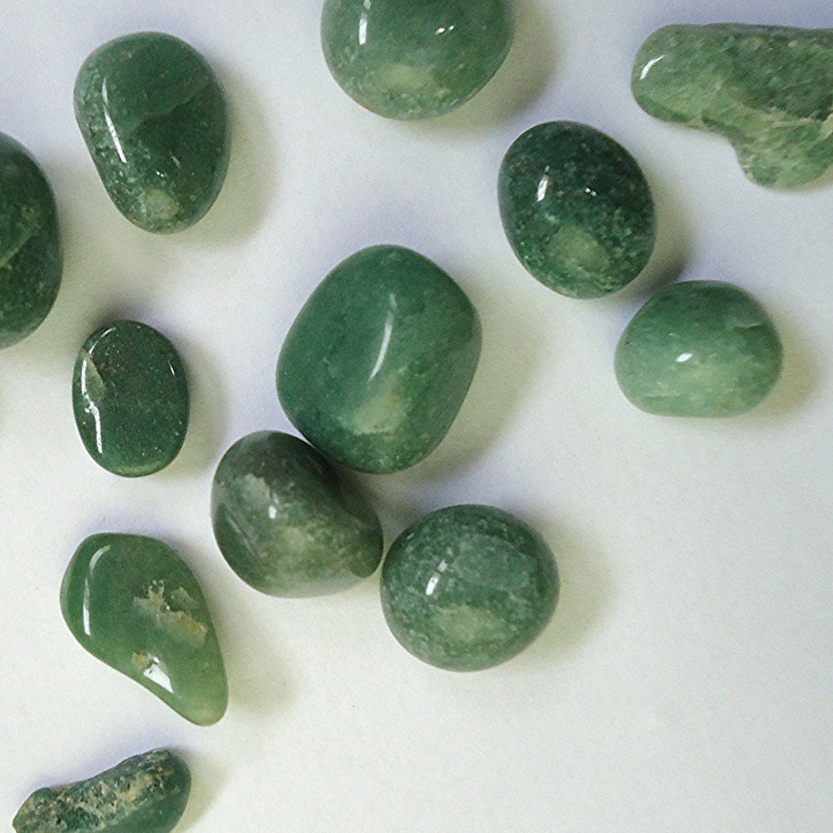 Aventurine is a popular stone used for crystal healing.
