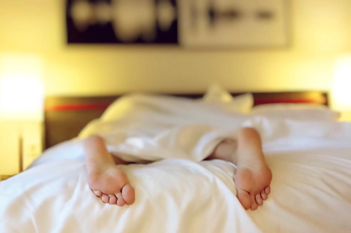 A full nights sleep is essential for a productive day.