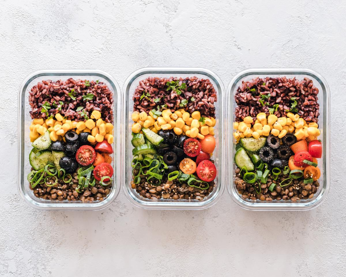 Meal prep is a great way to save time and energy.