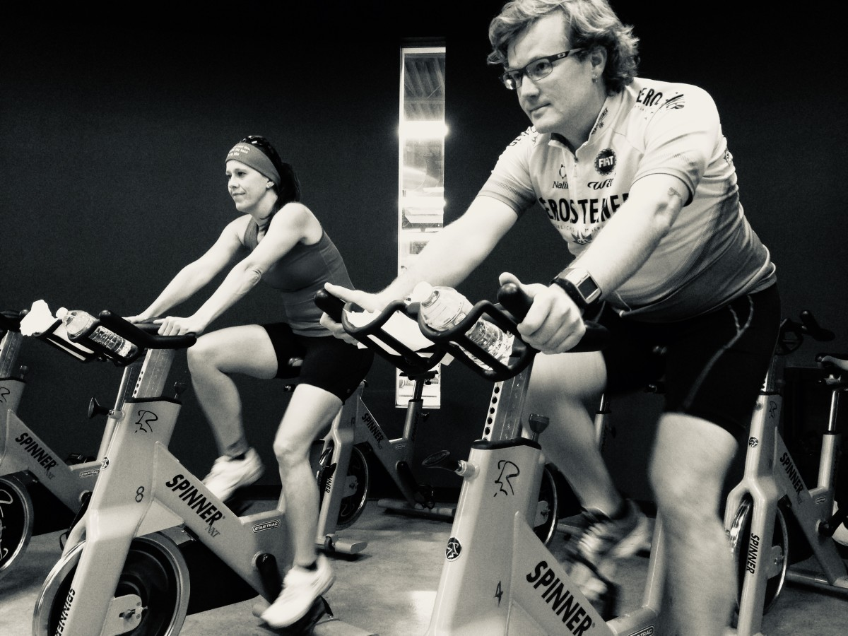 A stationary bicycle at your local gym could be the perfect way to burn calories and lower stress.