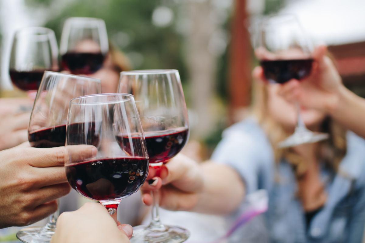 Red wine is chock full of antioxidants.