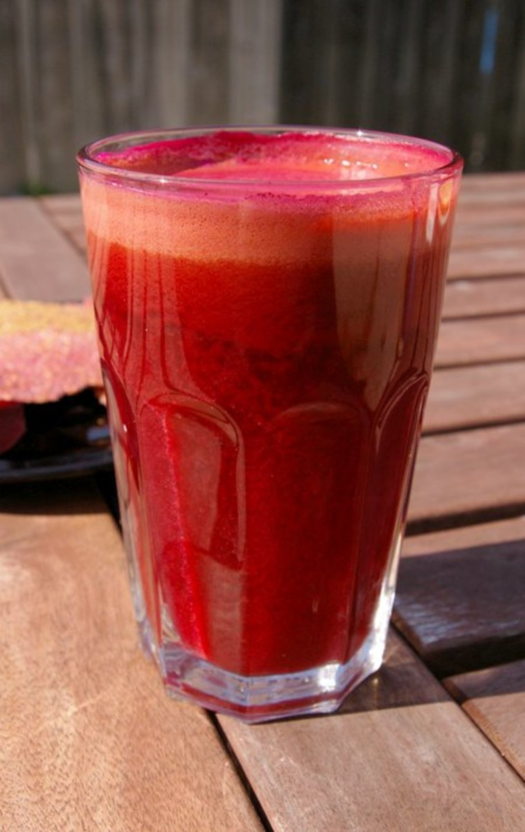 Many juice blends help with bladder infections.