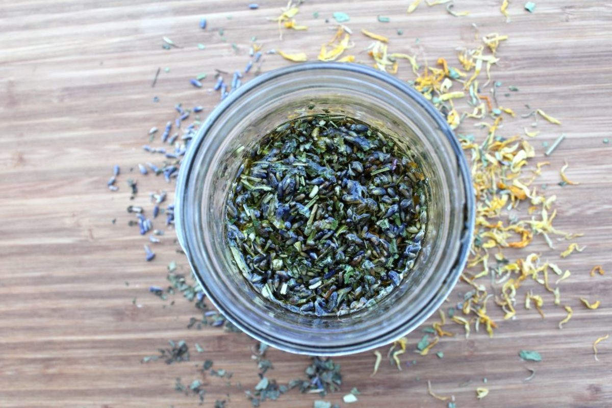 Herbs offer so many benefits, if we infuse them in oil, we can harness their healing powers!