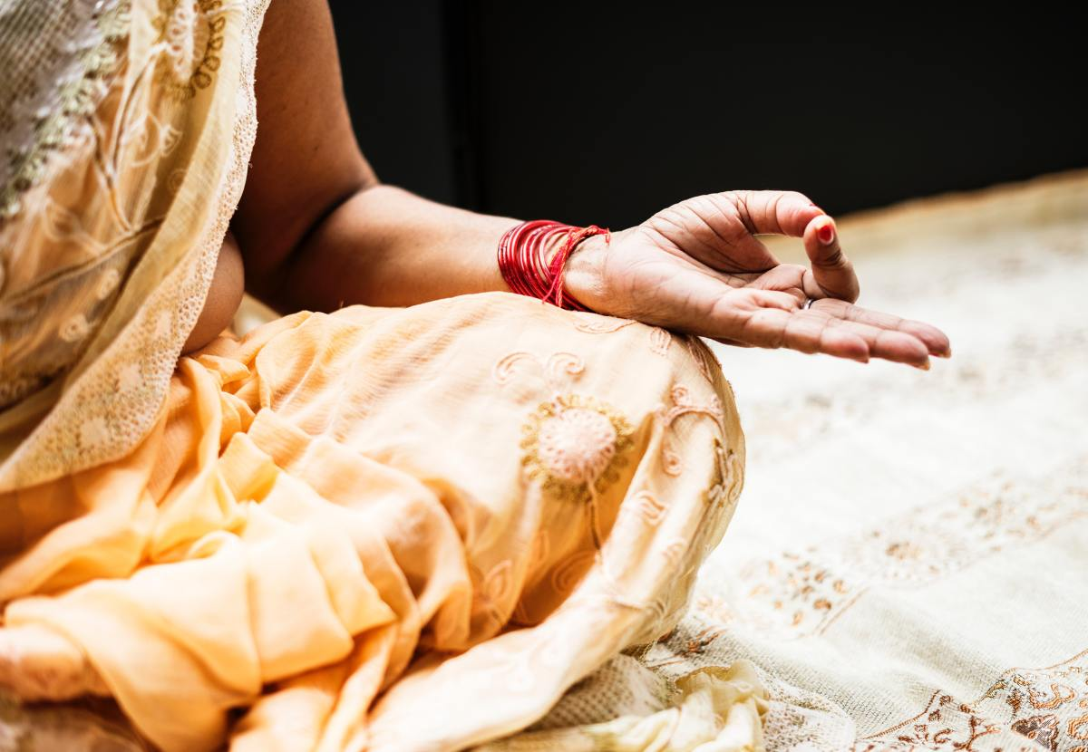 Repeating a mantra can help you focus on the purpose of your meditation and keep your mind from wandering.