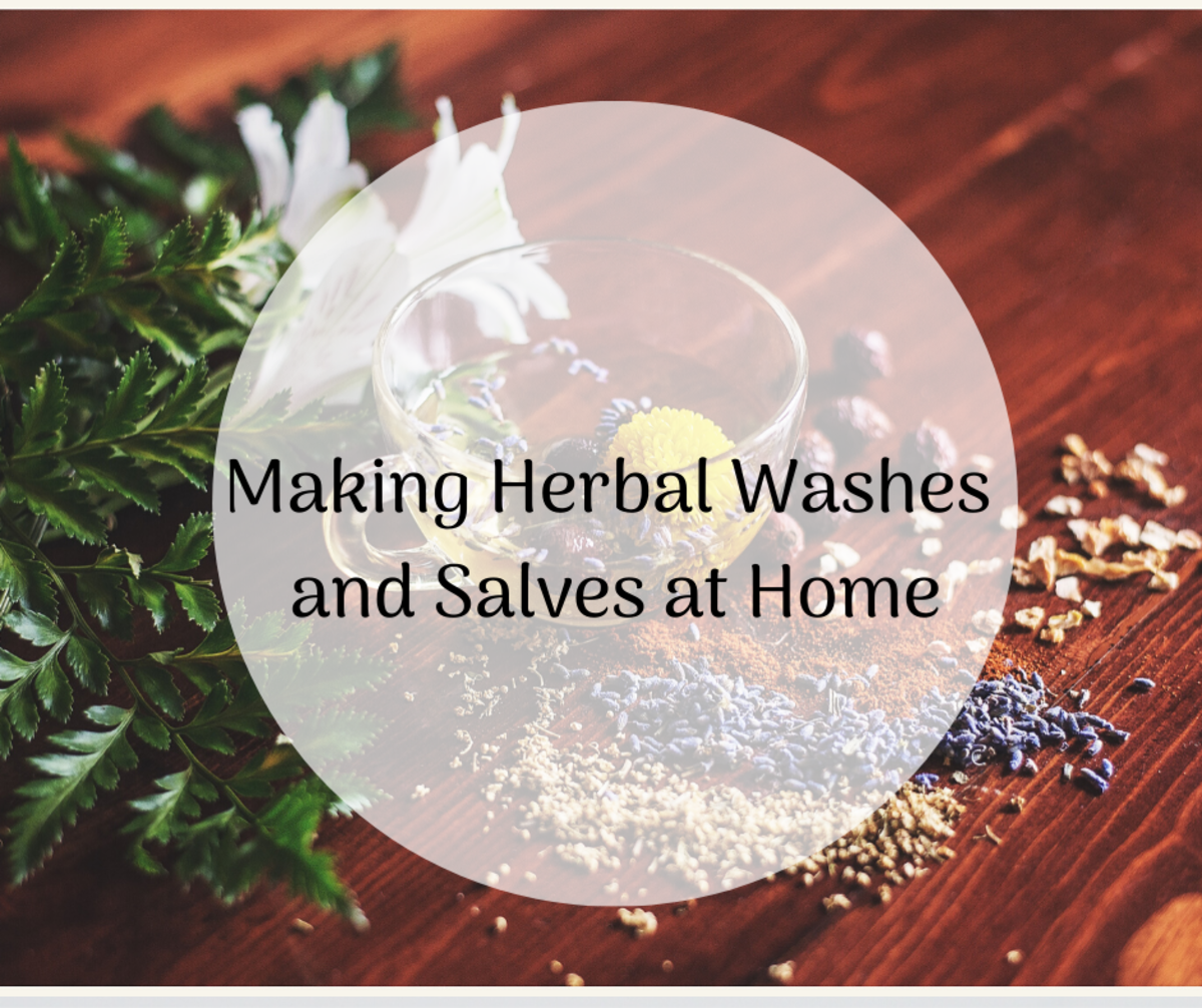 How to Make Your Own Herbal Wound Wash and Salve