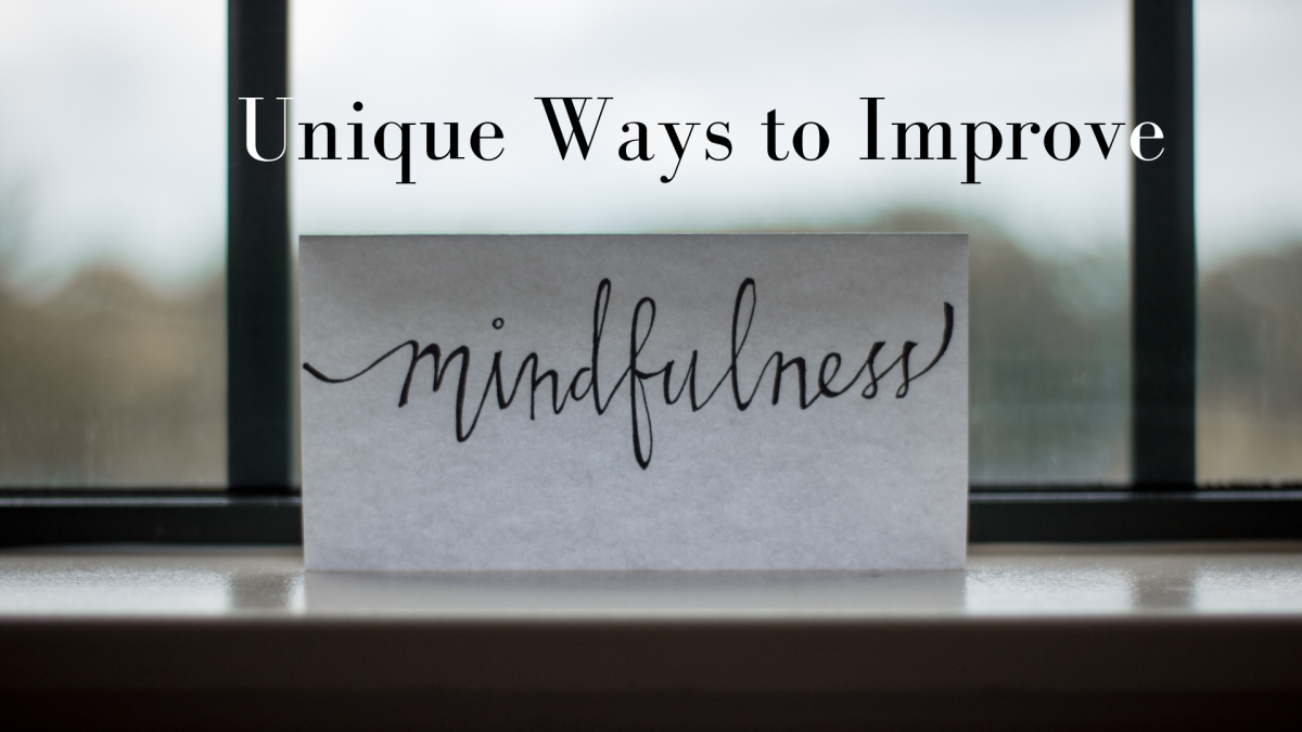 There are a number of non-conventional ways to become more mindful.
