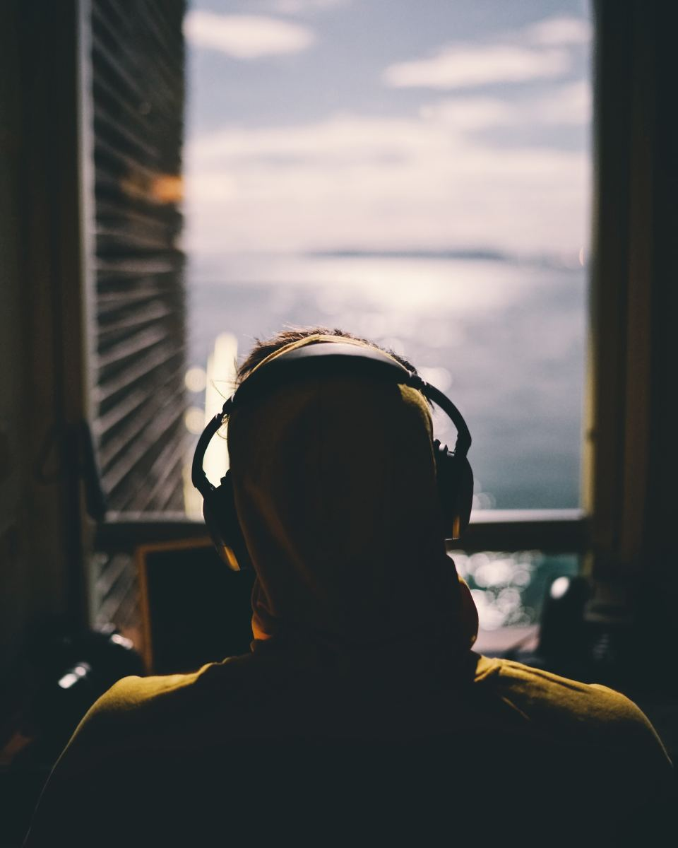 Plug in your headphones and enjoy some good old ASMR videos. Photo by Reynier Carl on Unsplash.