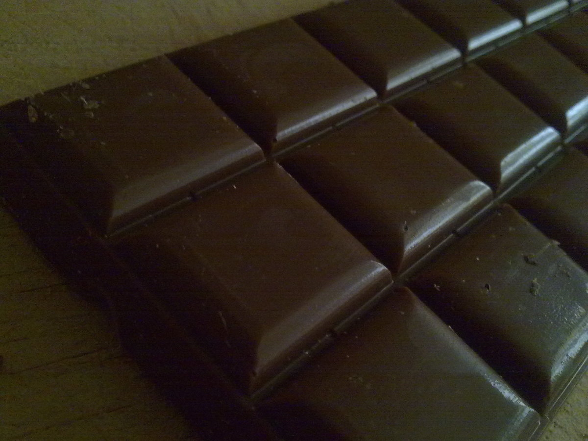 Dark chocolate contains anti-oxidants that help your skin heal faster