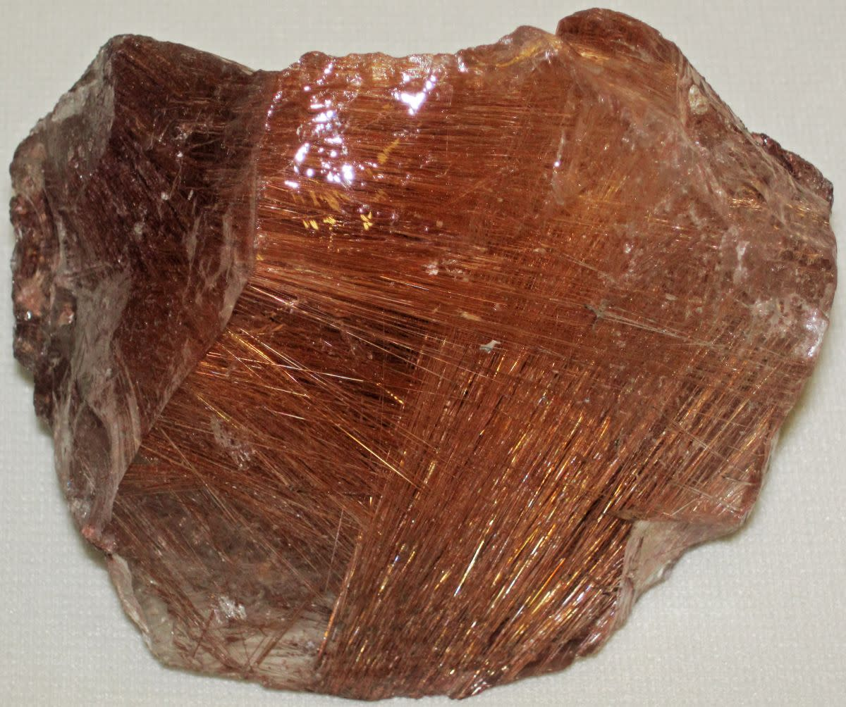 Rutilated quartz is a combination of quartz and rutile and so possess the qualities of both minerals.