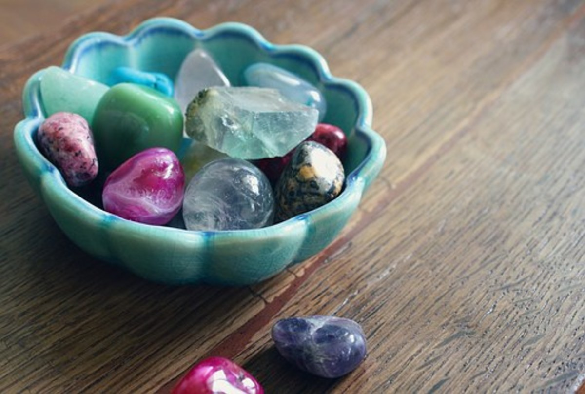 Where you choose to store your crystals is up to you. You might consider putting aquamarine in a room to bring forth a calming energy into the room.