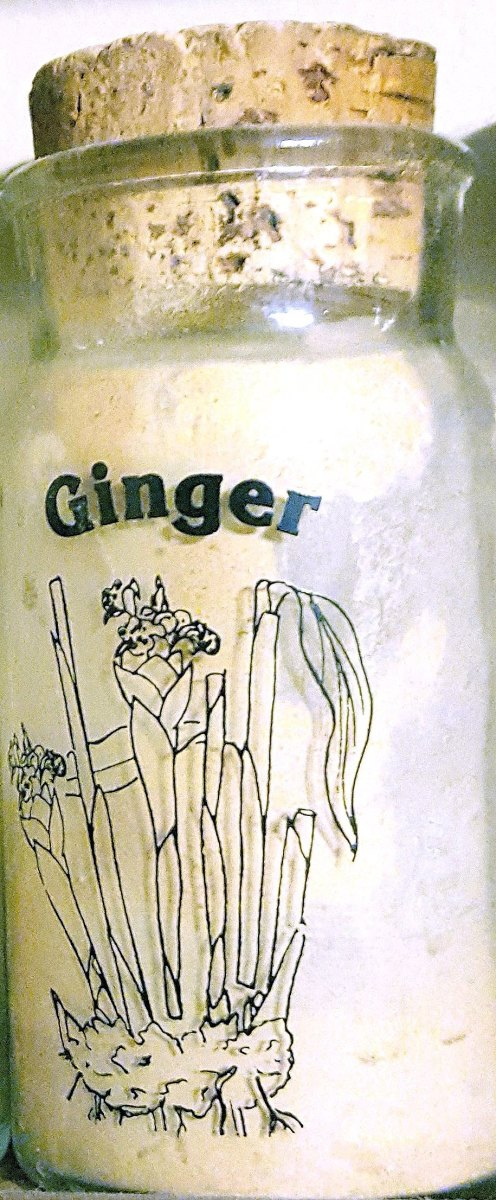 Powdered/ ground Ginger