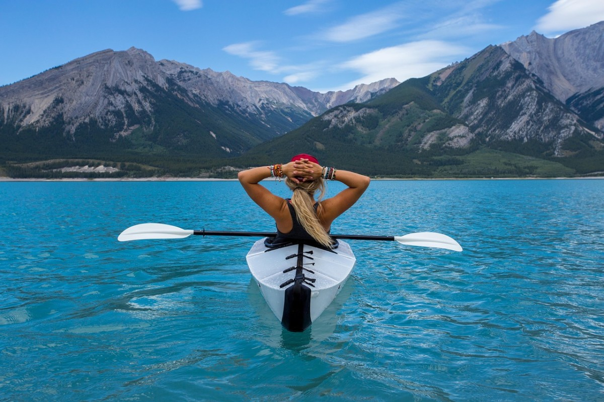You don't need a tropical island or a canoe but the same idea counts. Do something that's fun and physical enough to give yourself a natural lift.