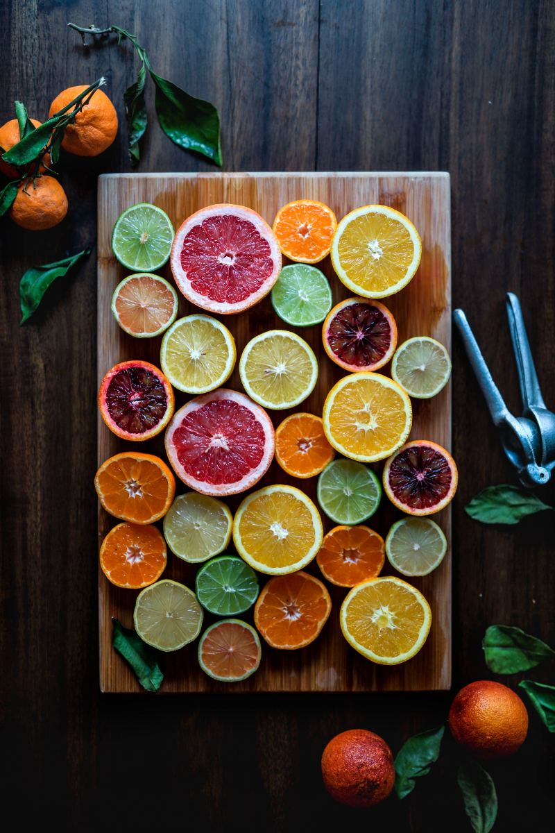 Citrus can help lower LDL.