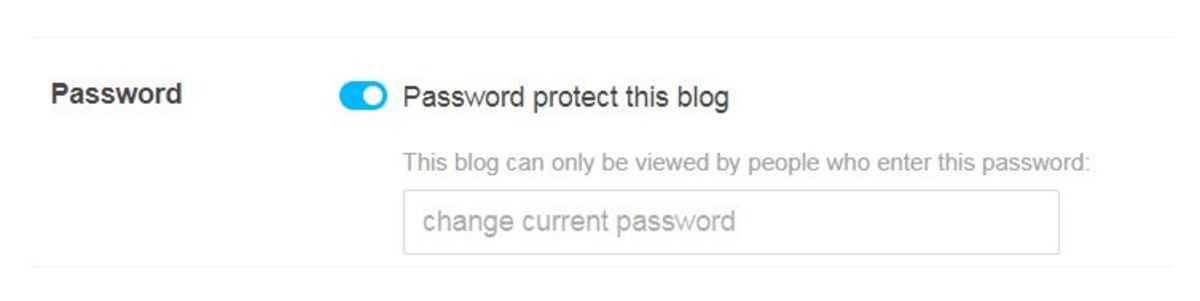 Be Sure To Password Protect (Found Under Settings) or Everyone Will Be Able to Read It