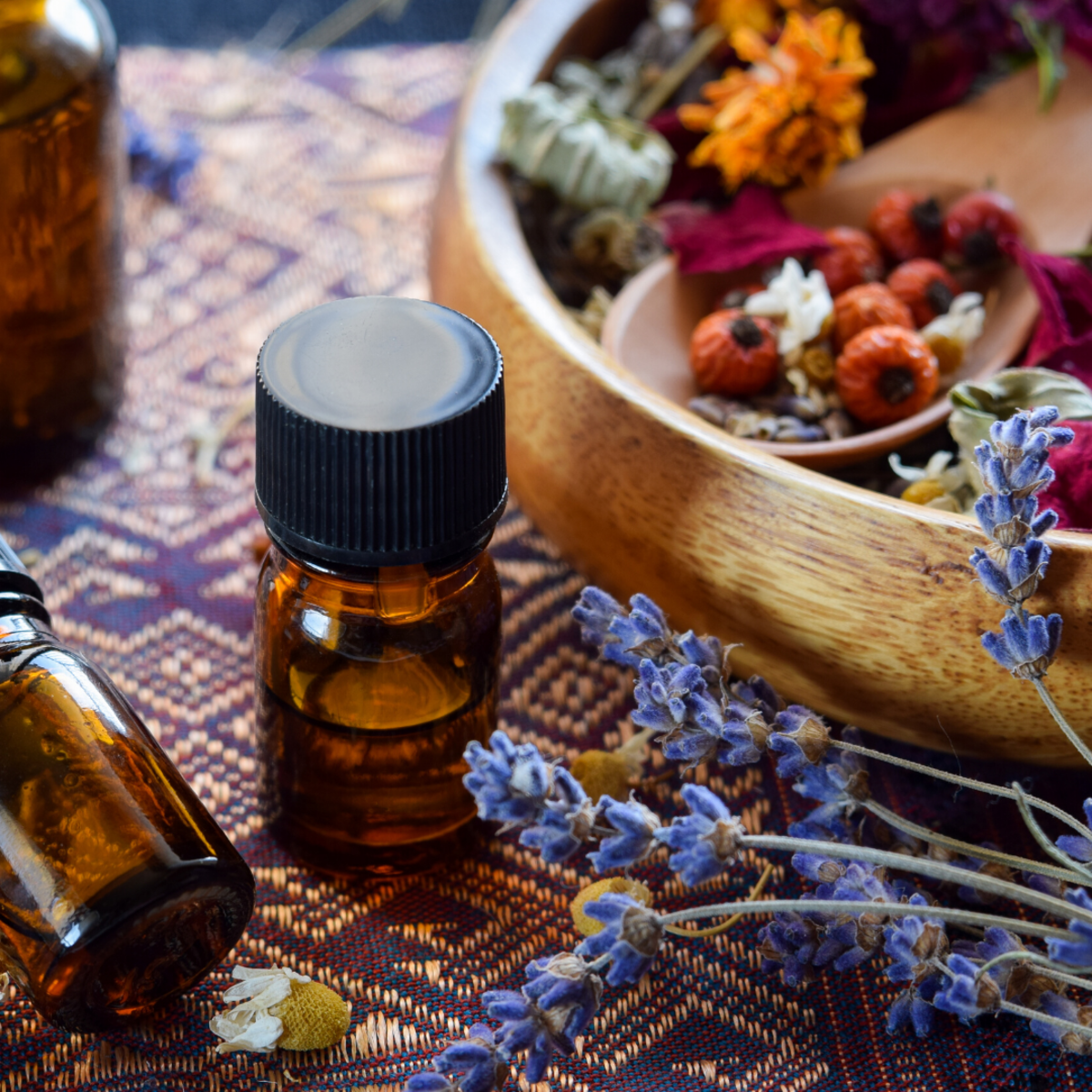 Aromatherapy can help take your mind off your mood.
