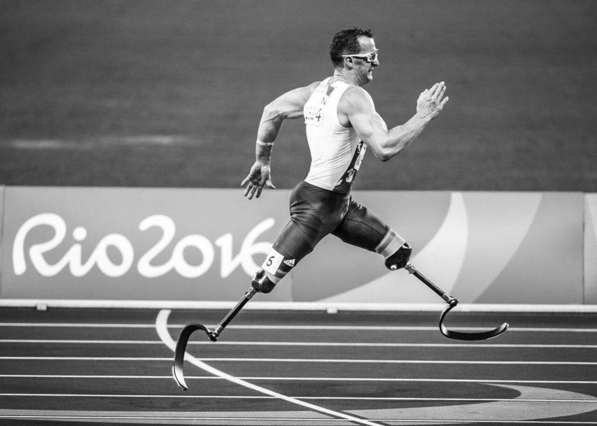 Even with a double lower limb amputation, the human body still adapts well enough to compete at the Paralympics.