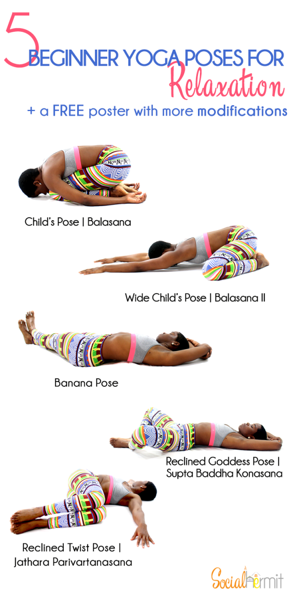 Simple Relaxation Poses