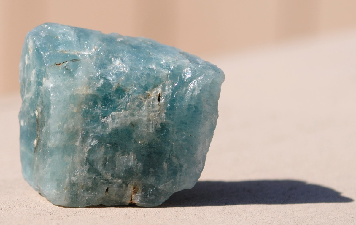 Aquamarine is a great choice for keeping water plants healthy.