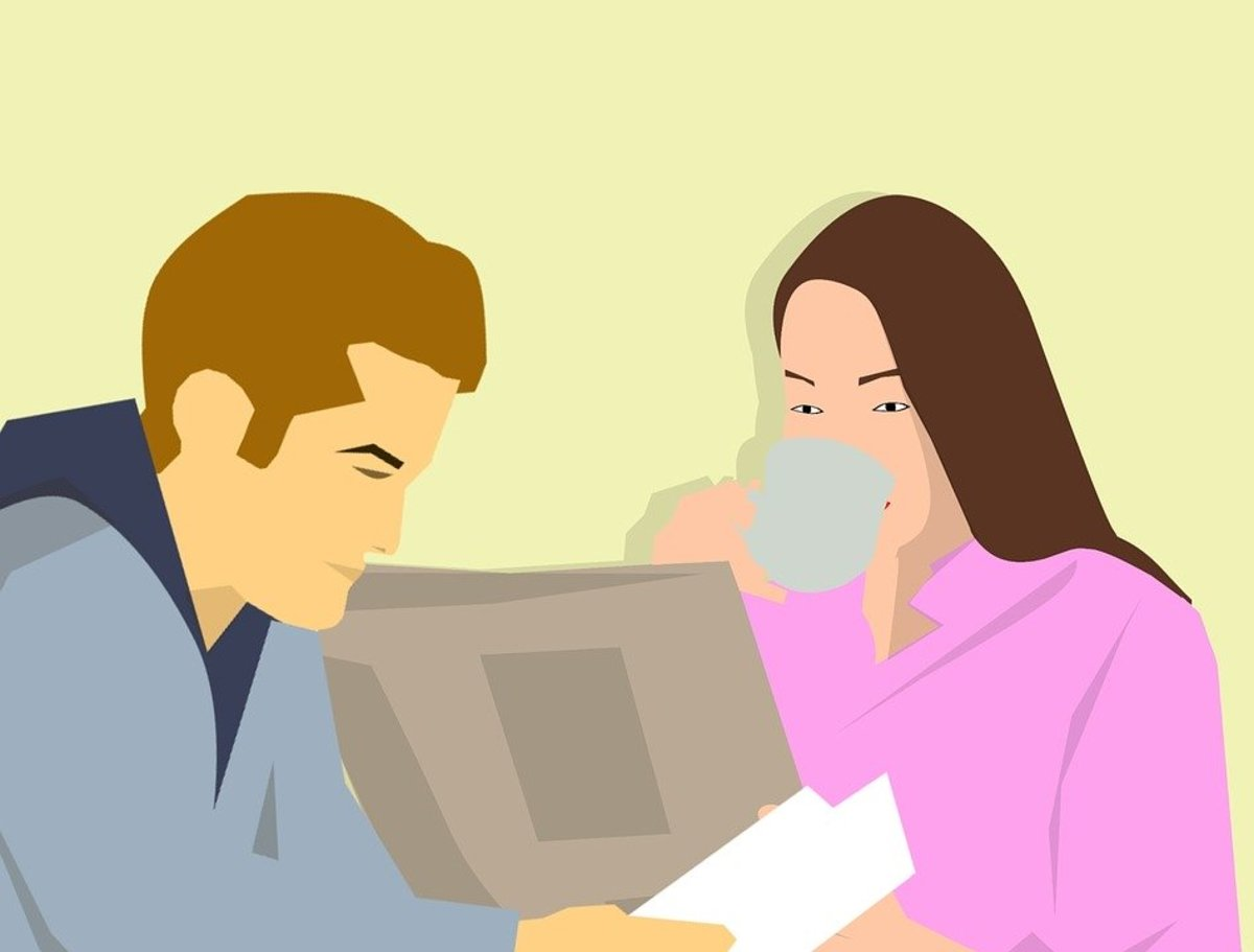 Change up your morning routine by actually talking to your spouse.