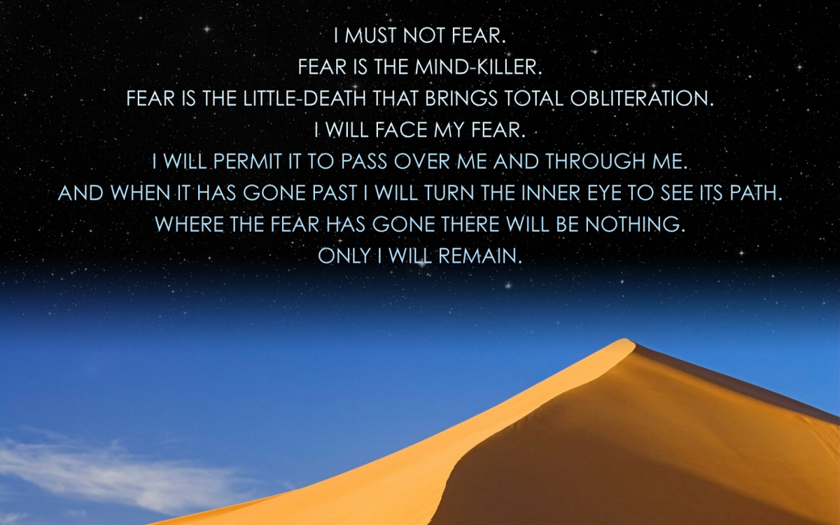 From Dune by Frank Herbert