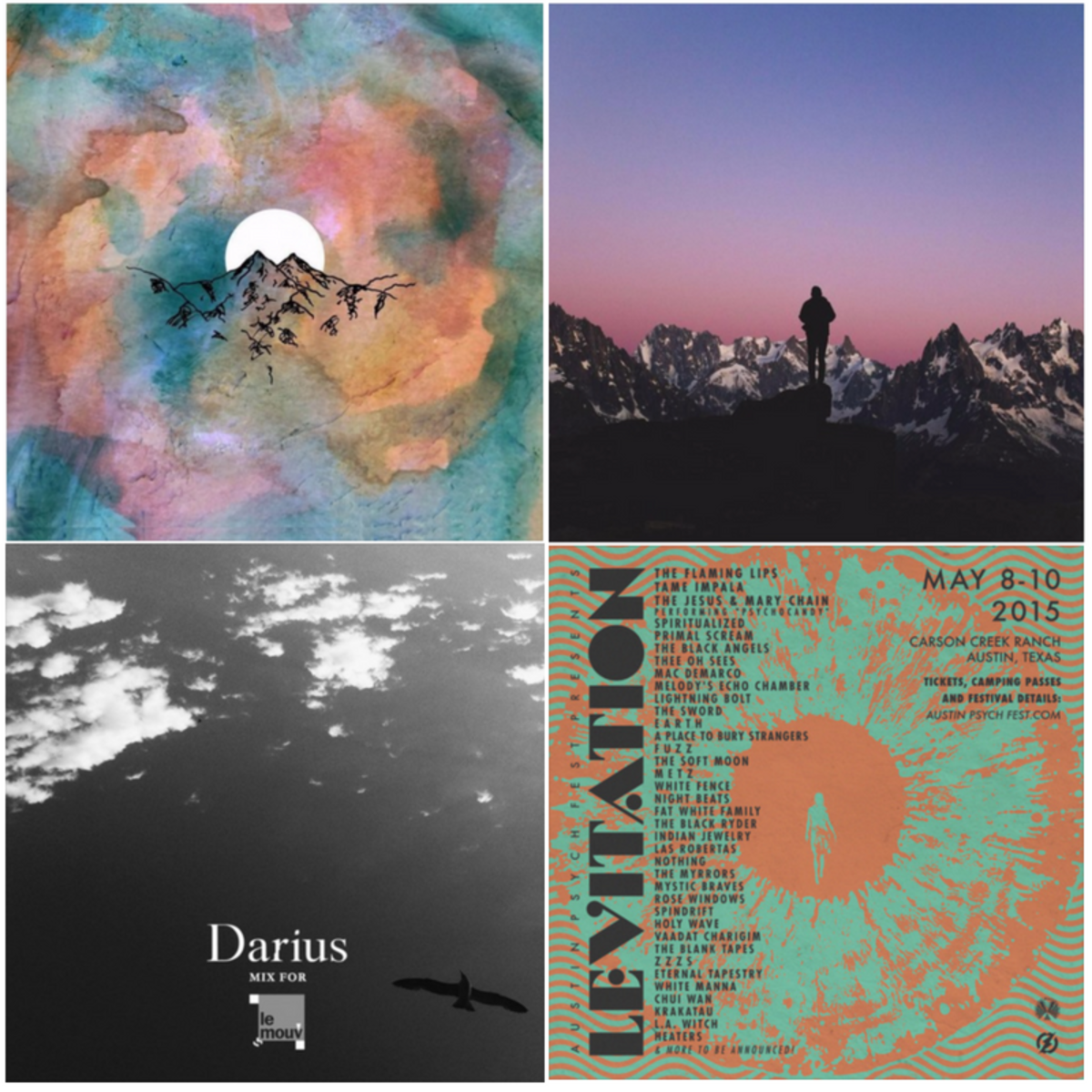 These are just some of many, many playlists out there that will satisfy your music needs for hours on end.