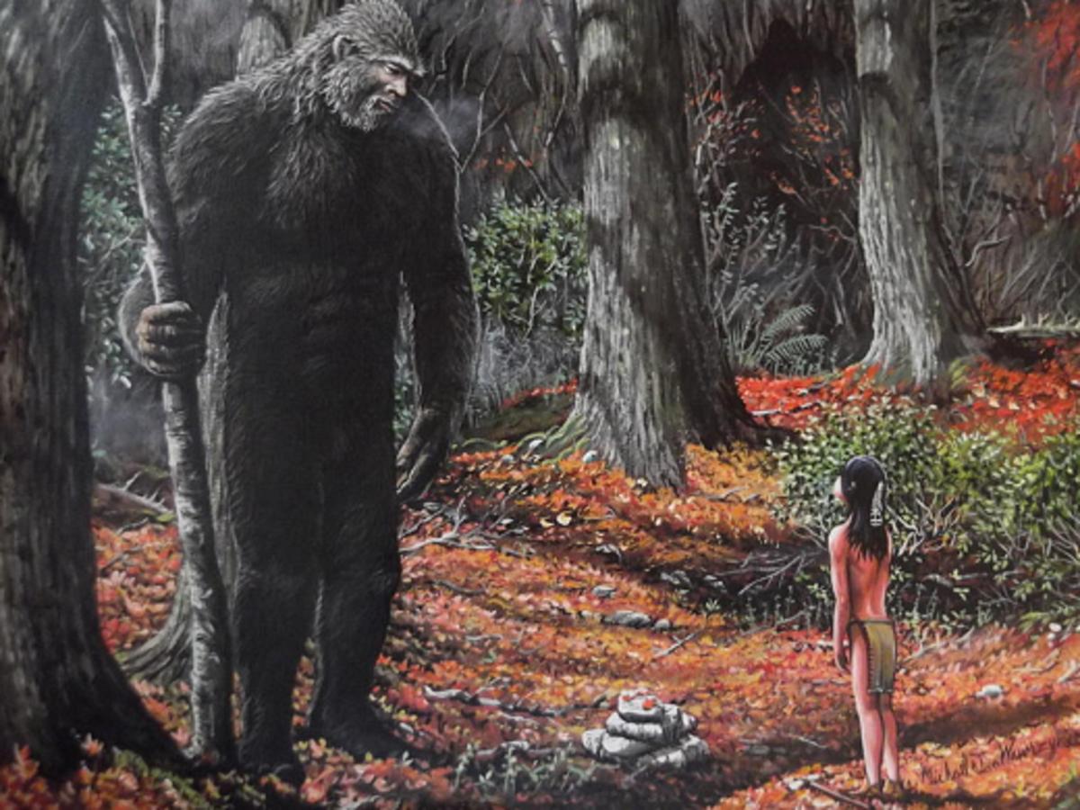 Three Native American Links to Bigfoot