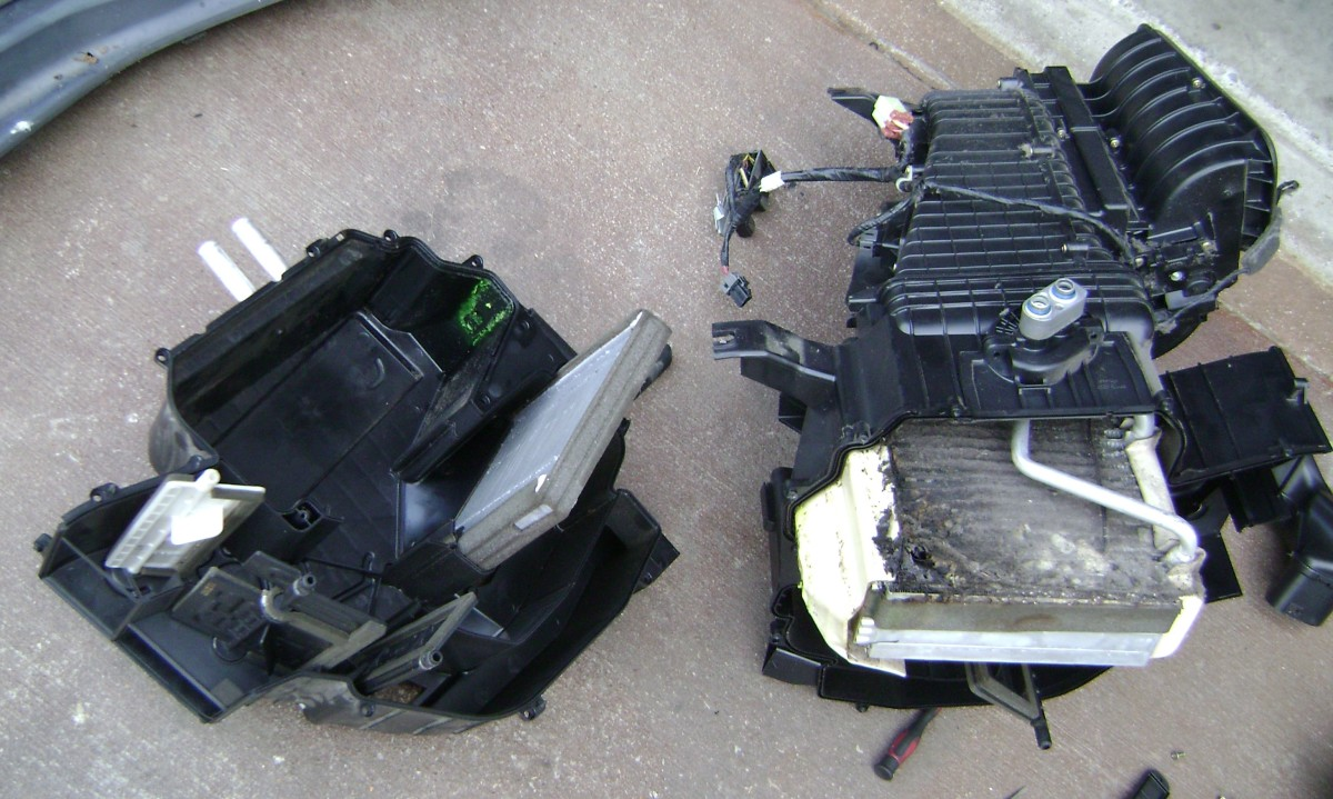 Replacing the AC Evaporator on a 2007 Kia Sportage