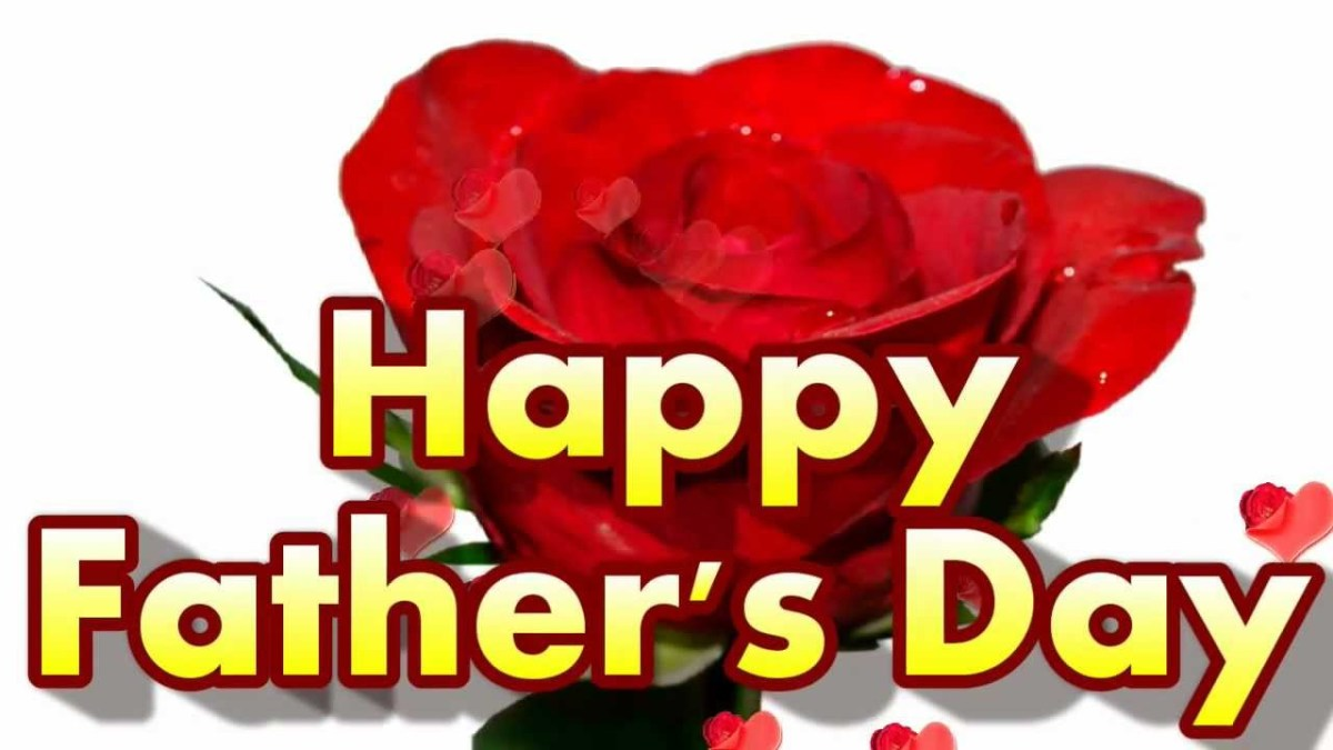Happy Father's Day. To my Hubber-Father-Friends.