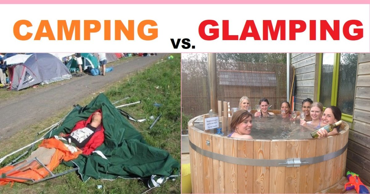 What Is Glamping, and What Sets It Apart From Regular Old Camping?