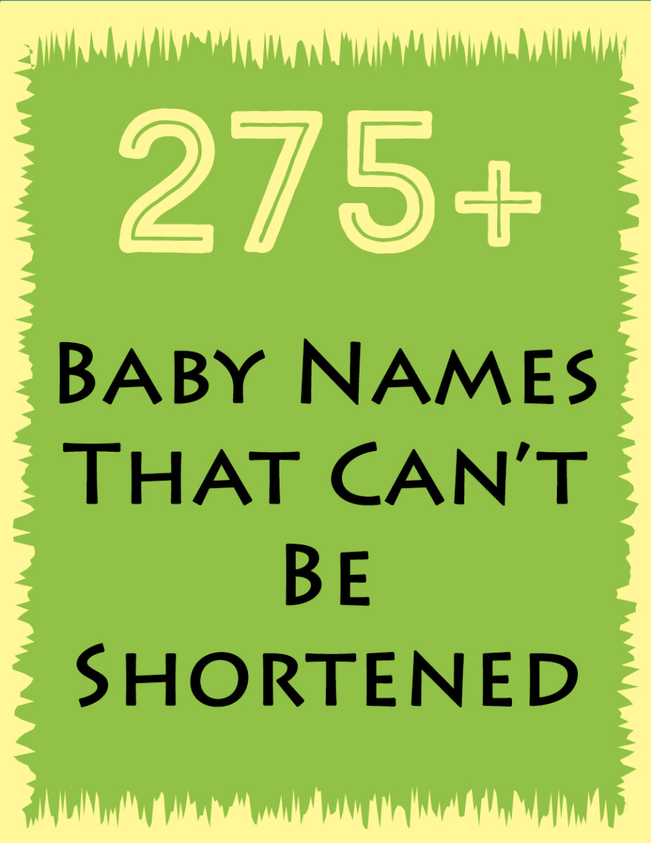 275+ Baby Names That Can't Be Shortened