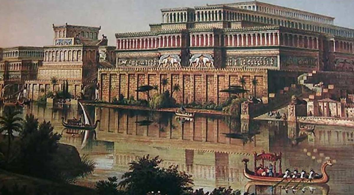 Five Libraries of the Ancient World