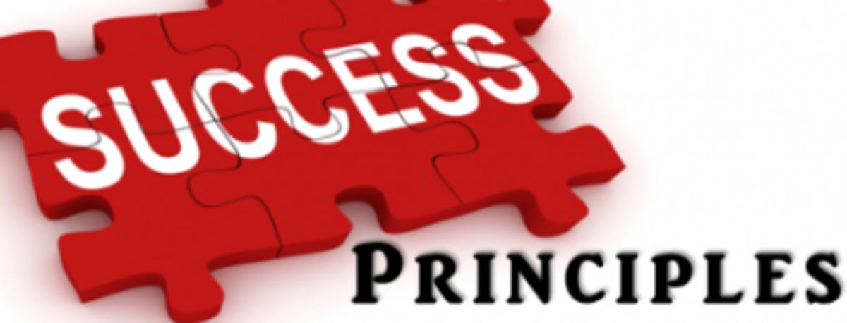 3 Fundamental Principles to Success