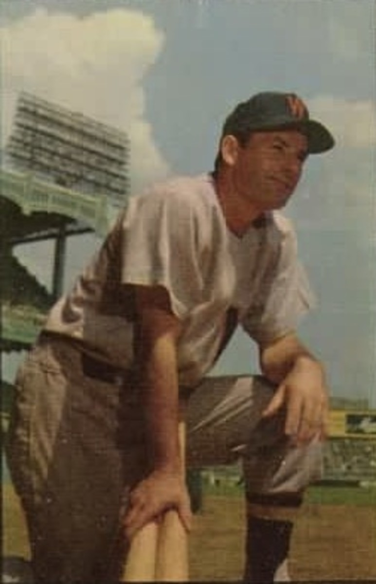 Mickey Vernon with the Washington Senators in 1953.